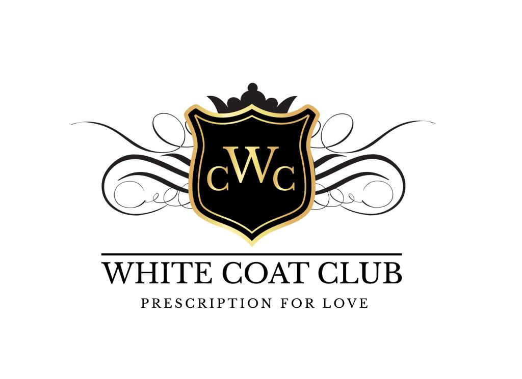 FIVER white coat club Rx for love logo
